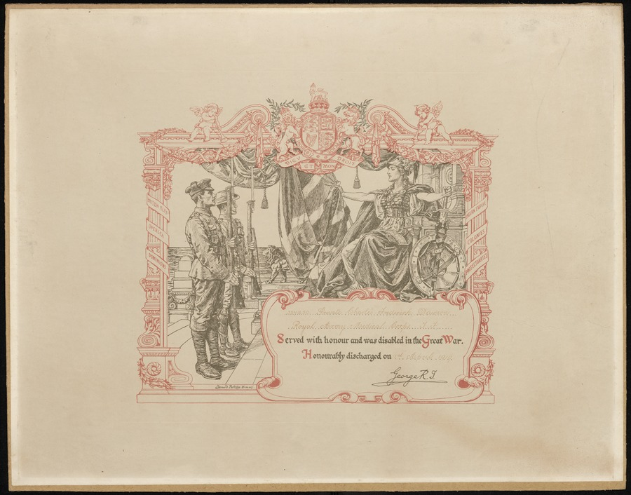 Honorable Discharge Certificate Digital Library