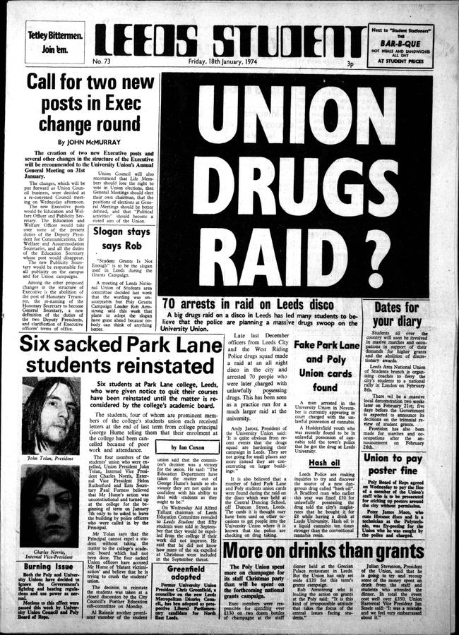 1 Leeds Student, issue 73