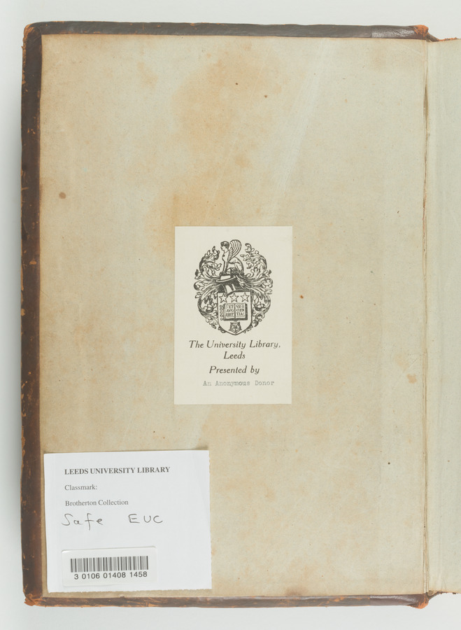 2 Preclarissimus liber elementorum Euclidis perspicacissimi, in artem geometrie incipit qua[m]foelicissime