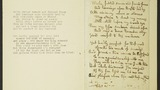 2 Manuscript poem beginning 'While fabled scenes and fancied forms...'