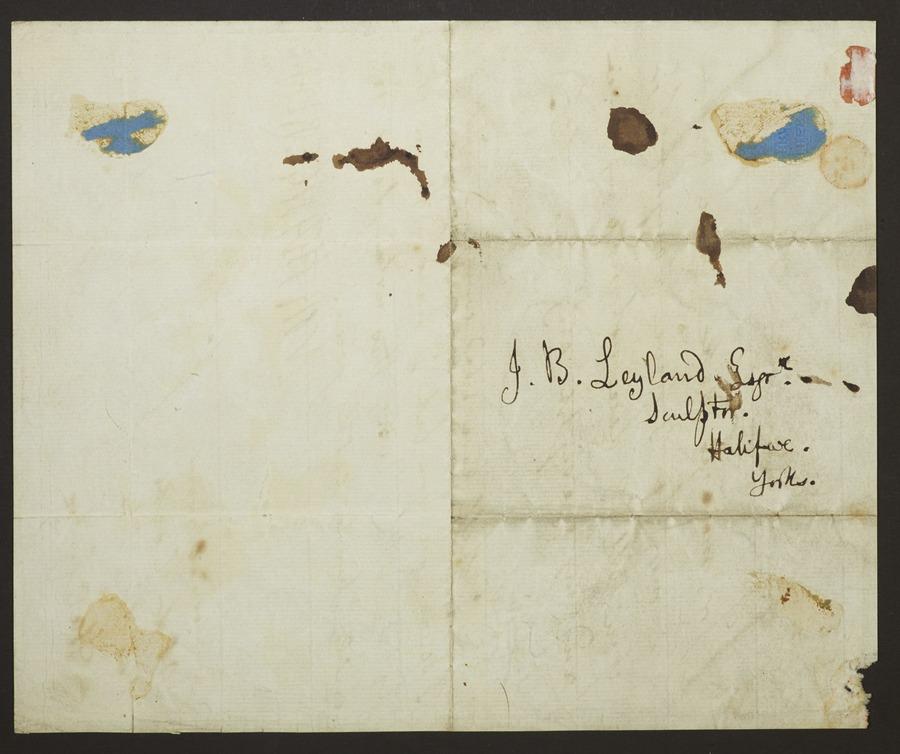#2 Letter signed 'Northangerland'.