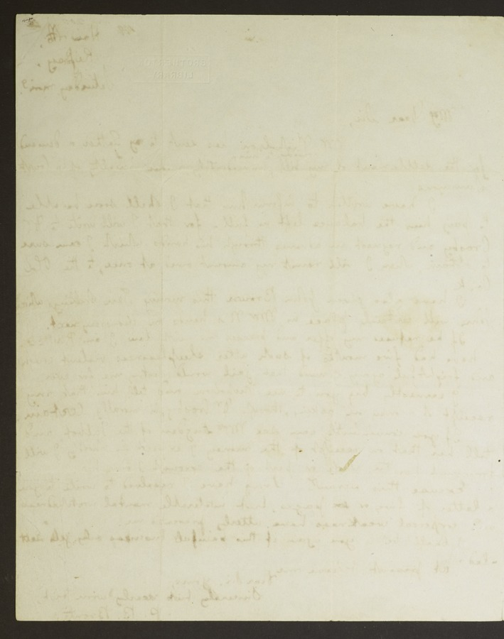#2 Letter to John Brown