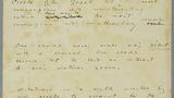 Autograph manuscript of six aphorisms / Oscar Wilde.